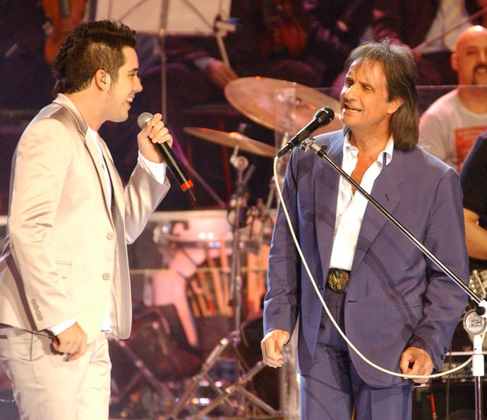 Jota Quest se apresentou no Especial RC de 2005 (Foto: TV Globo / Zé Paulo Cardeal)