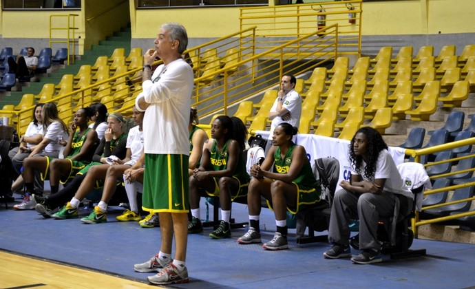 Luiz Augusto Zanon, técnico da seleção brasileira de basquete feminino (Foto: Nikolas Capp)