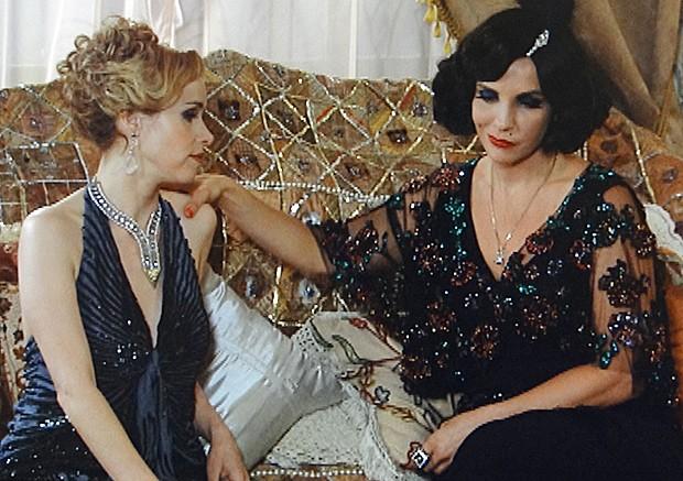 Zarolha conta sua decisão a Machadão (Foto: Gabriela / TV Globo)