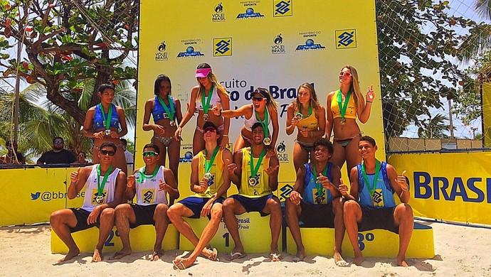Circuito Banco Do Brasil 2017 : Duplas cariocas vencem ª etapa do nacional sub de