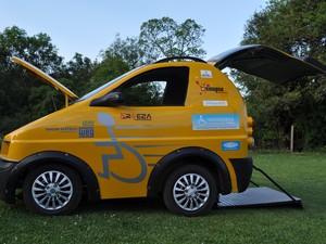 Pratyko, veículo para cadeirantes criado no Brasil (Foto: Divulgação)