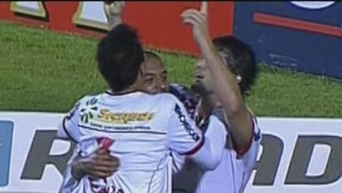 Ortigoza marca e Mogi Mirim vence o Boa Esporte (Foto: Reprodução Premiere FC)