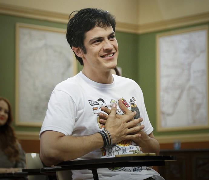 Mateus Solano volta a viver Zé Bonitinho (Foto: Raphael Dias/Gshow)