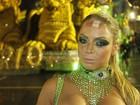 Descontração e ausência de rainha marcam desfile das campeãs em SP