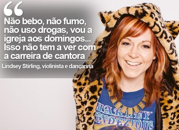 Lindsey Stirling (Foto: Divulgação/T4F)