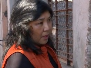 Coordenadora da ONG, Cristina Harumi Adania (Foto: Reprodução TV TEM)