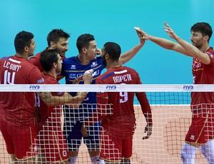 França Liga Mundial (Foto: Divulgação / FIVB)