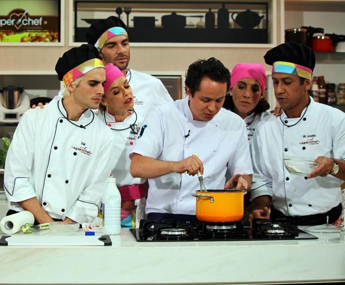 Chef Raphael Despirite no 'Super Chef' (Foto: Carolina Morgado/Gshow)