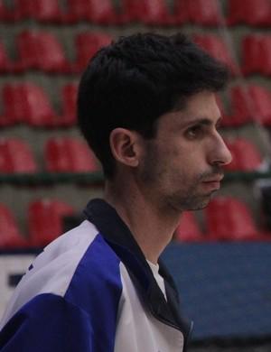 Eder Sousa vôlei mogi das cruzes técnico (Foto: Cauê Maldonado)