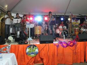 Banda está ensaiando os arranjos das marchinhas finalistas  (Foto: Divulgação/Prefeitura de Tibagi)
