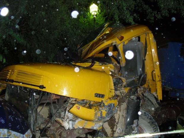 Vítima descia uma ladeira quando o freio do veículo teria parado de funcionar (Foto: Divulgação/ De Olho em Gravatá)