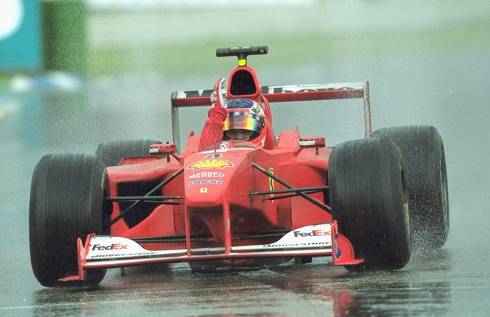 Rubens Barrichello venceu sua primeira corrida na Fórmula 1 no GP da Alemanha de 2000 (Foto: Getty Images)