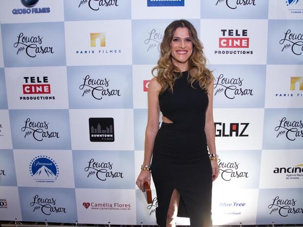 Ingrid Guimarães em pré-estreia em São Paulo (Foto: Marcelo Brammer / AgNews)