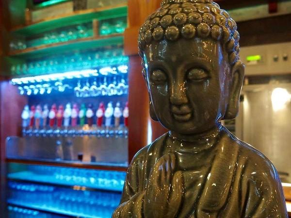 O taproom da fábrica tem receitas exclusivas da Funky Buddha