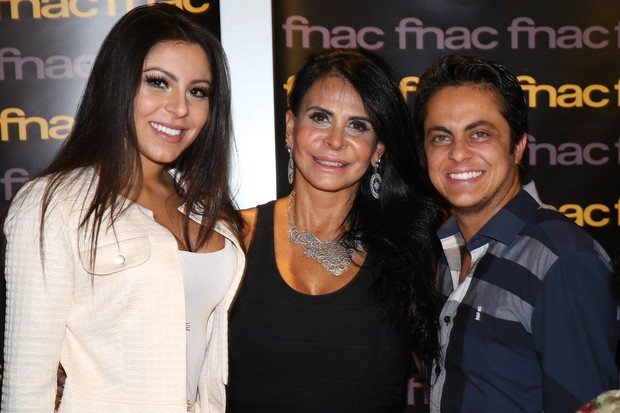 Andressa Ferreira, Gretchen e Thammy (Foto: Manuela Scarpa / Photo Rio News)