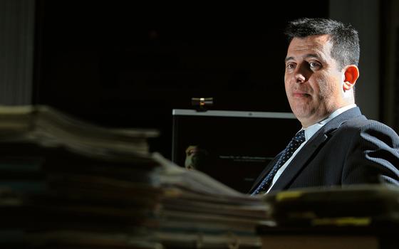 O diretor-geral da PF,Leandro Daiello.Para ele investigações em Curitiba estavam esfriando (Foto: Sergio Lima/Folhapress)