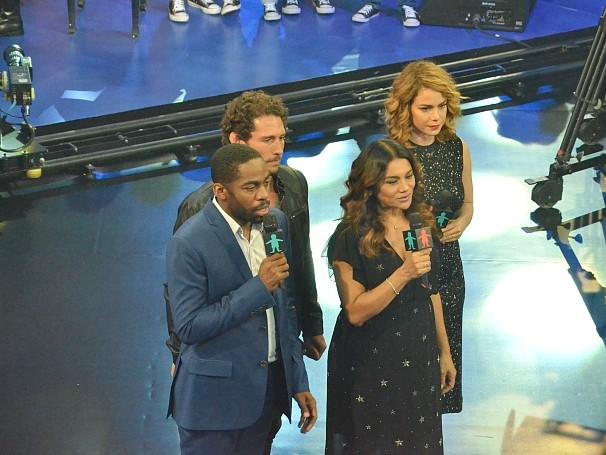 Especial Criança Esperança reuniu atores e músicos (Foto: Globo/Alexandre Horta)