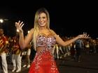 Musas apostam em transparências em noite de samba