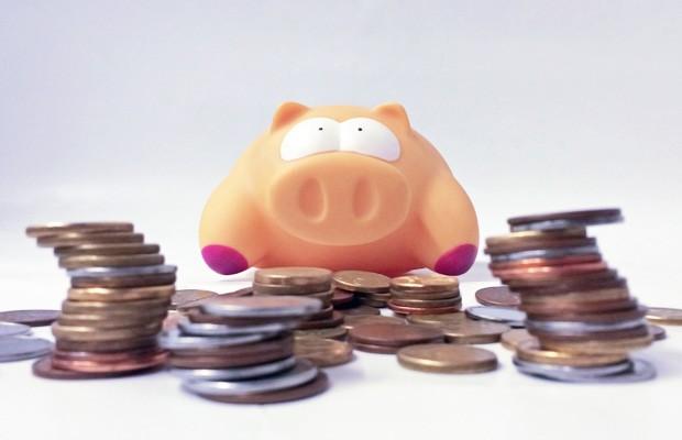 Porquinho de poupança, dinheiro, moedas, Mega-Sena (Foto: Fábio Tito/G1)