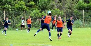 Luverdense treinos 2014 (Foto: Assessoria/Luverdense Esporte Clube)