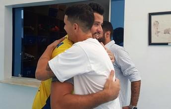 Chegada de Thiago Neves empolga os futuros companheiros de Cruzeiro