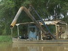 Polícia Ambiental aplica R$ 678 mil em multas por extração ilegal de areia