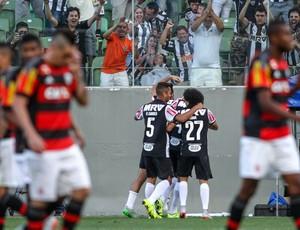 0bc6552c9a Jogadores comemoram gol do Atlético-MG (Foto  Bruno Cantini  Flickr Atlético -