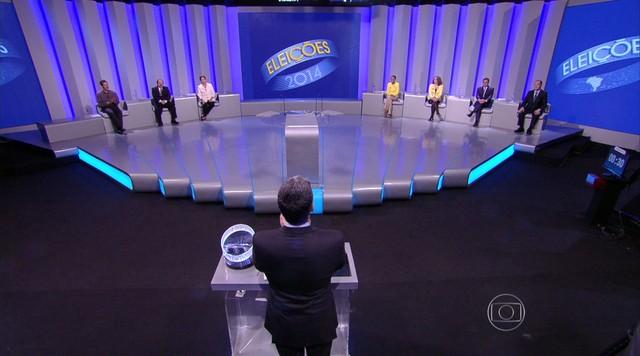 Debate entre os candidatos à Presidência da República - Parte 1