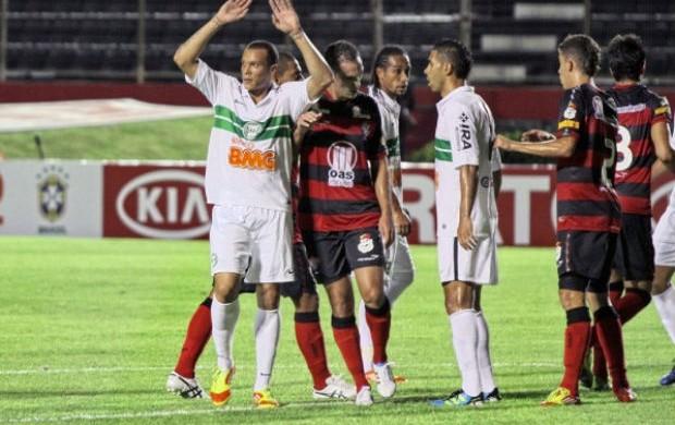 Coritiba empata com o Vitória pela Copa do Brasil (Foto: Divulgação/site oficial do Coritiba Foot Ball Club)