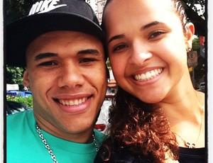 Dieguinho Priscila Heldes (Foto: Reprodução Facebook)