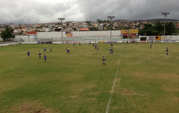 Jogo-treino Central-PE (Foto: Vital Florêncio / GloboEsporte.com)