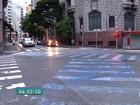 Faixas de pedestres terão cor verde em SP