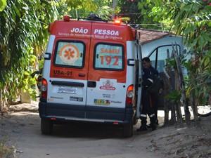 Bebê morreu em casa e suspeita é que ele sufocou com leite materno em João Pessoa (Foto: Walter Paparazzo/G1)