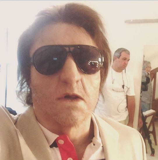 Luciano Huck caracterizado para programa (Foto: Instagram / Reprodução)