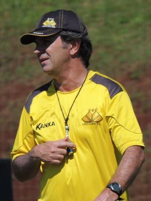 Caio Júnior técnico Criciúma (Foto: João Lucas Cardoso)