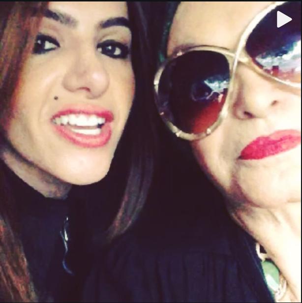 Cacá Werneck com a sogra (Foto: Reprodução/ Instagram)