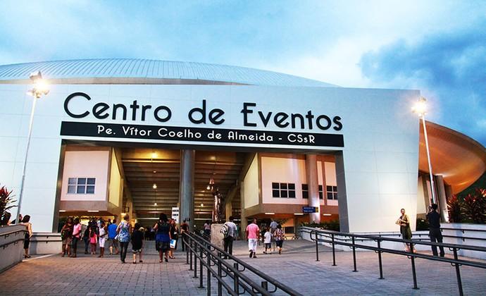 Centro de Eventos Padre Vitor Coelho de Almeida, Aparecida-SP (Foto: Divulgação/A12)