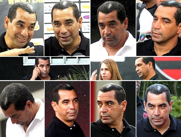 montagem caras e bocas do Zinho Flamengo (Foto: Editoria de Arte / Globoesporte.com)