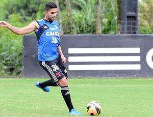 Frauches Treino Flamengo (Foto: Alexandre Vidal / Fla Imagem)