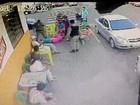 Imagens mostram PM agredindo homem em Sapiranga, RS; assista