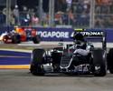 Ricciardo ameaça, mas Nico vence em Cingapura e tira Hamilton da liderança