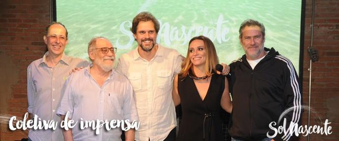 Lançamento Sol Nascente (Foto: Globo)