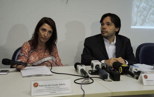Audiência MP sobre licitação do Maracanã  (Foto: Marcelo Baltar)