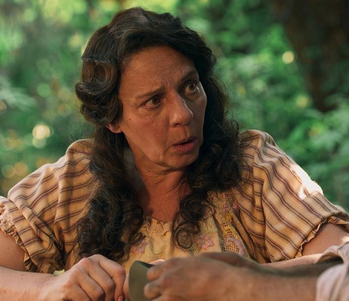 Será que Eponina vai se aliar a Zé dos Porcos? (Foto: TV Globo)
