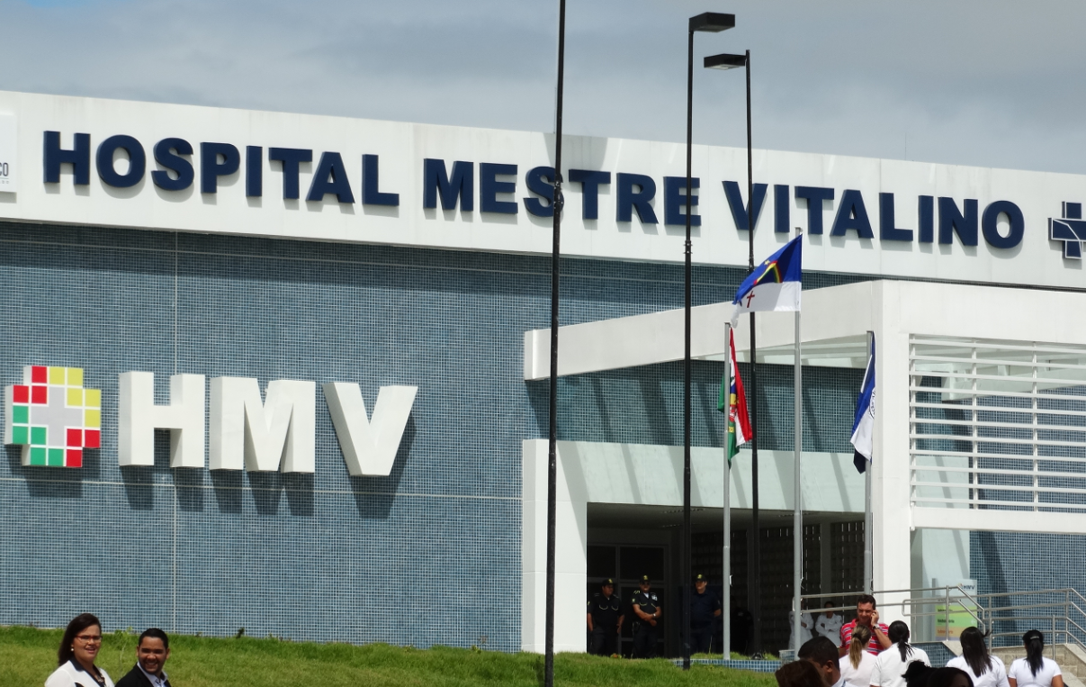 Hospital Mestre Vitalino, Caruaru, Pernabuco (Foto: Jael Soares/ G1)