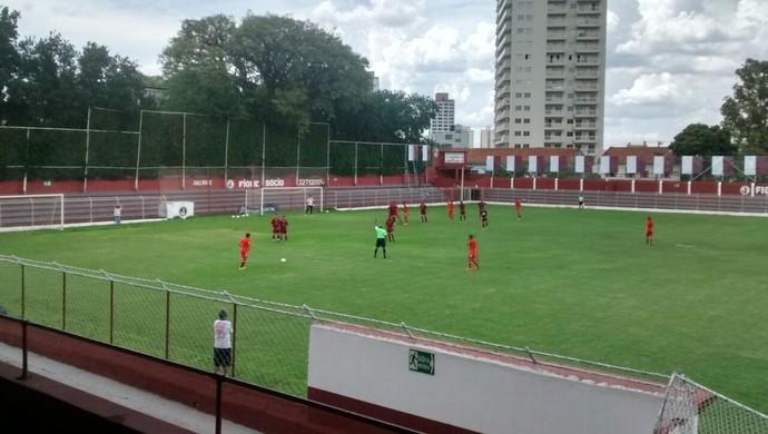 Amistoso do Vilhena contra o Juventus da Mooca (Foto: Vilhena/Divulgação)