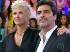 Junno Andrade imita frase de Xuxa ao falar de namoro: 'Estou feliz pacas'