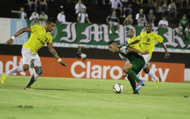 Cene x Coritiba (Foto: Divulgação/ Site oficial Coritiba)