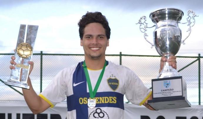 Pivô Camillo Neves reforça o São Cristóvão na Liga FUT 7 2014 (Foto: Divulgação/FF7ES)