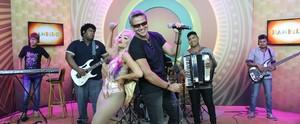 Reveja a mistura de rock com forró que agitou o 'Paneiro' de sábado (23) (Gabriella Lira/ Rede Amazônica)